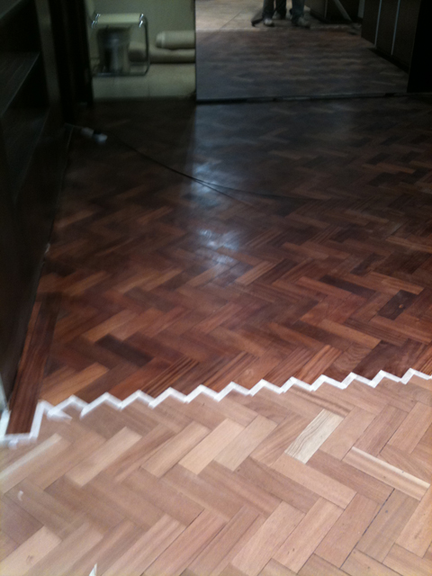 Option 2 Attention To Detail For Parquet Floor Restoration