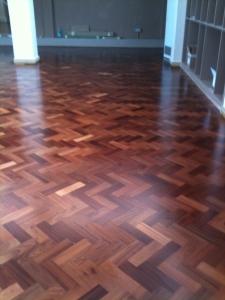 Parquet Floor Renovation