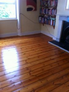 Wood Floor Sanding for Pine Boards