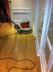 Wood Floor Buffing
