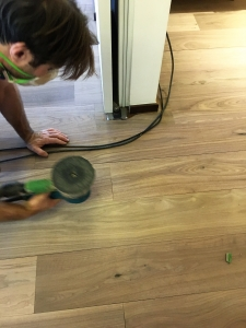 Solid Wood Floor Sanding