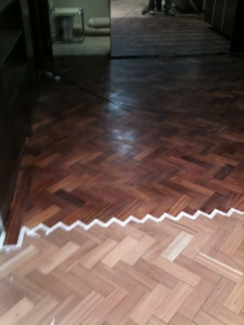 Wood Floor Restoration For Parquet Floors