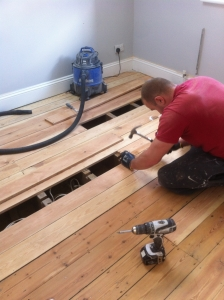 Floorboards Restoration Repairs