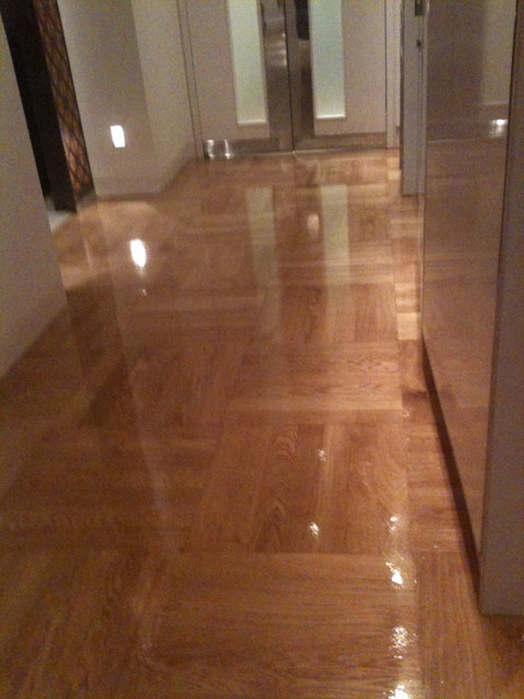 Prime Oak Sealed High Gloss Varnish West End Flooring