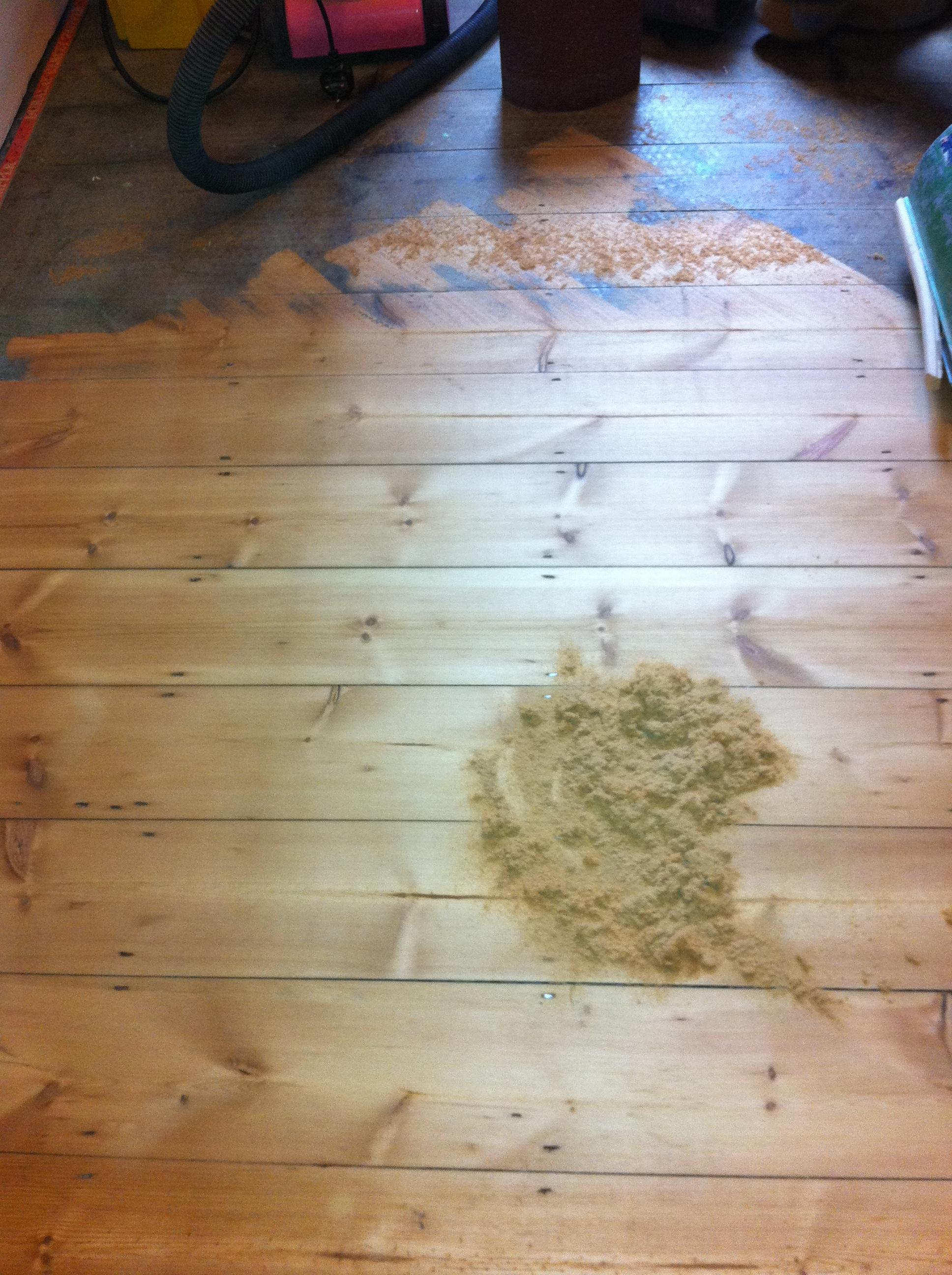 Floor Sanding For Old Victorian Pine Boards Oak Floors