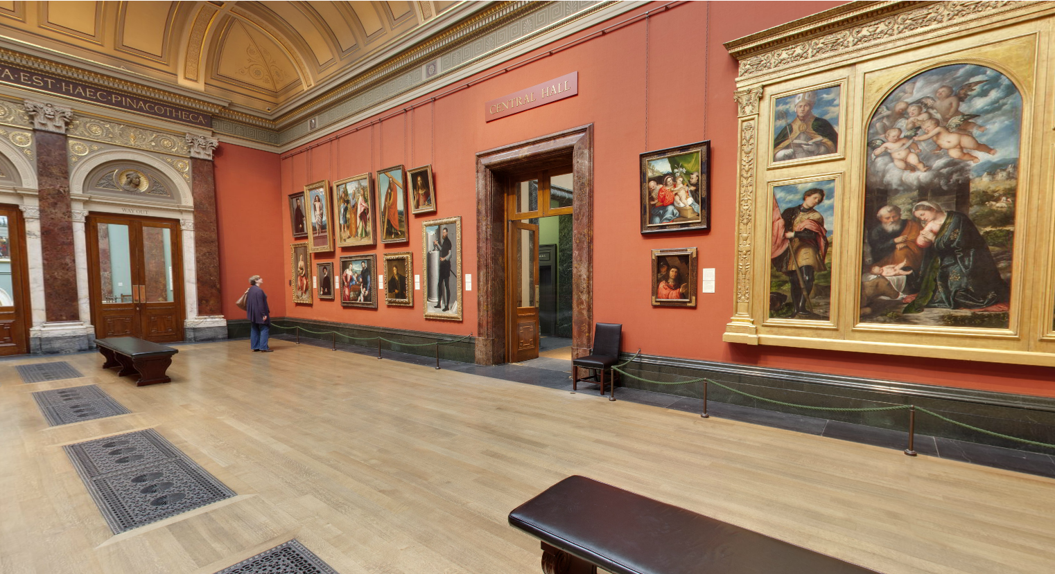 Floor Sanding London - National Portrait Gallery Museum - West End ...